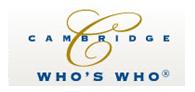 Cambridge Who's Who